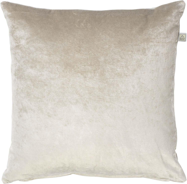 CIDO - Sierkussen velvet zand 45x45 cm
