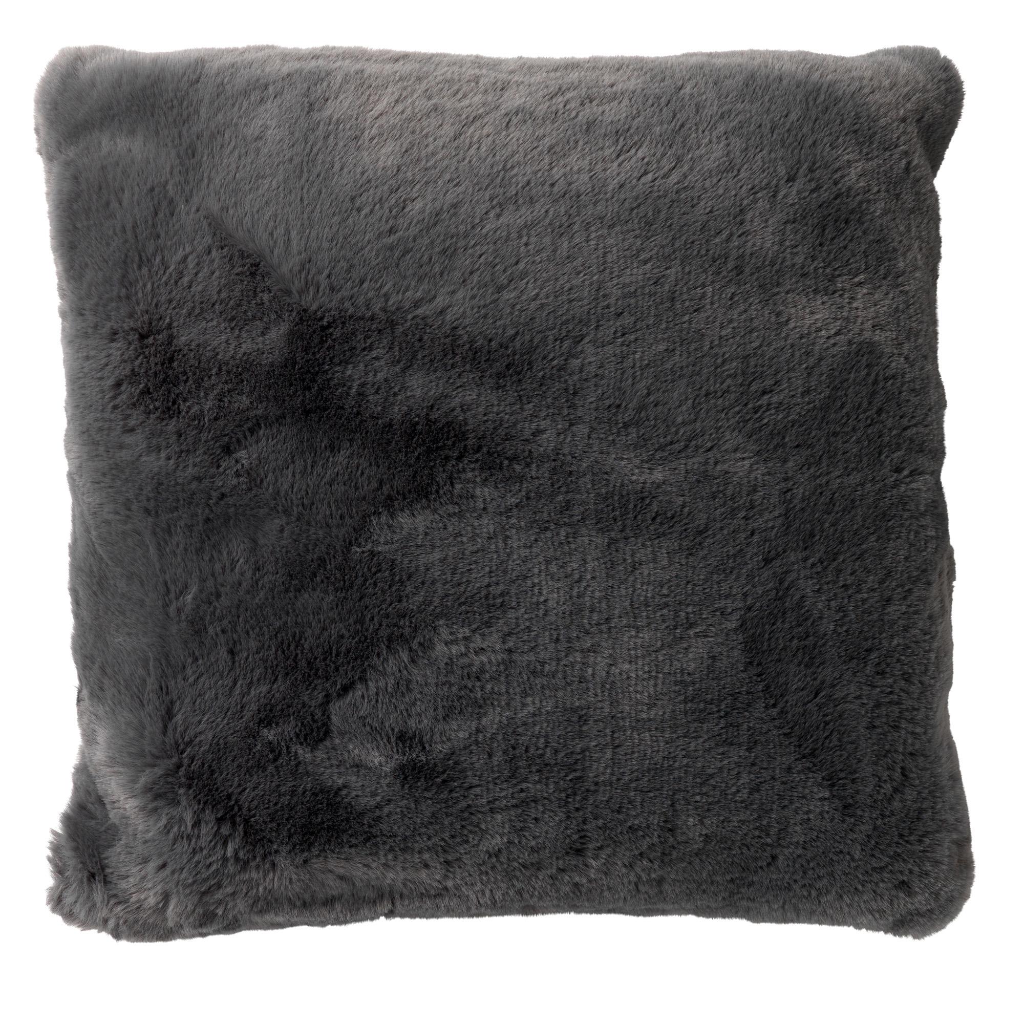 Sierkussen Zaya 45x45 cm Charcoal Grey