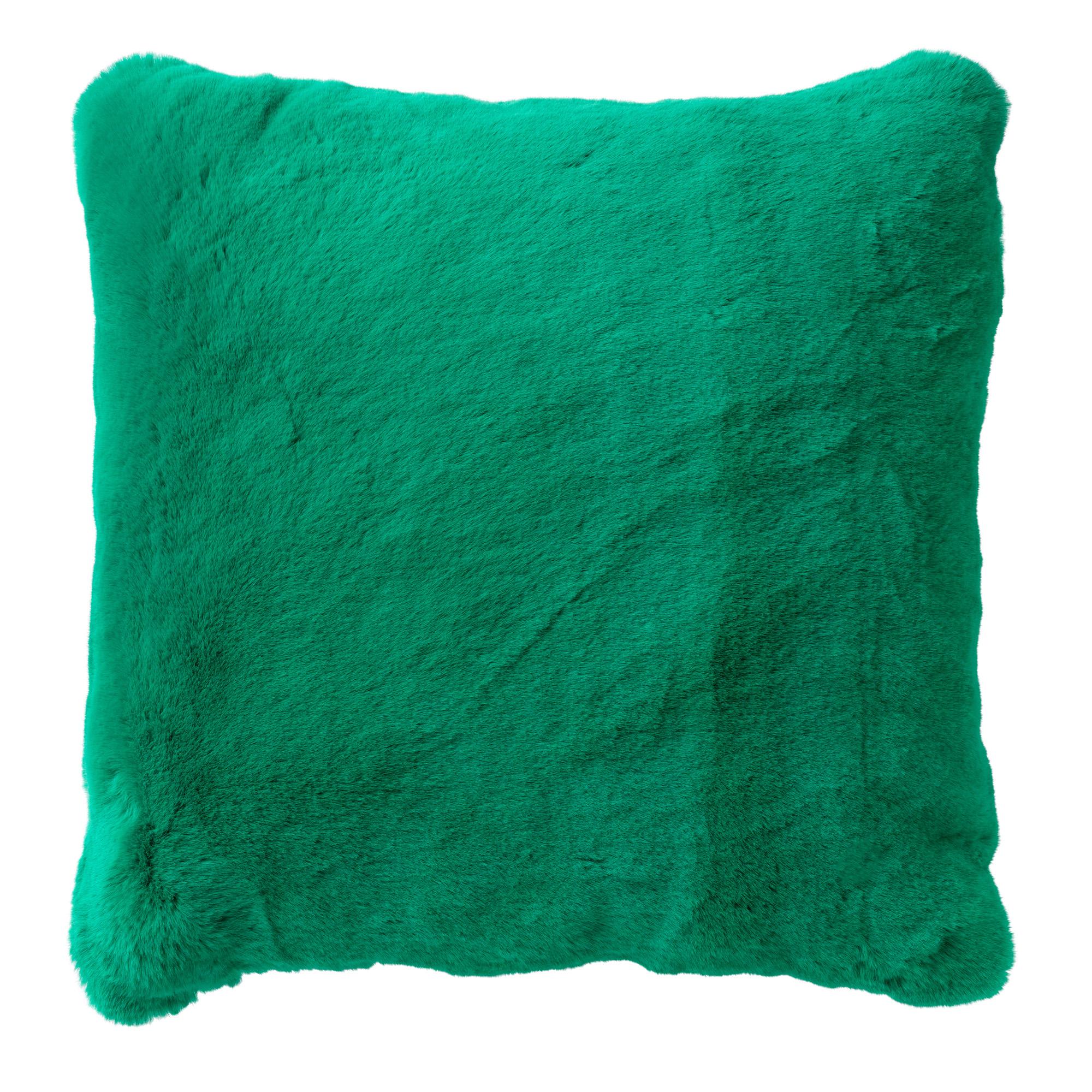 ZAYA - Sierkussen unikleur Emerald 45x45 cm