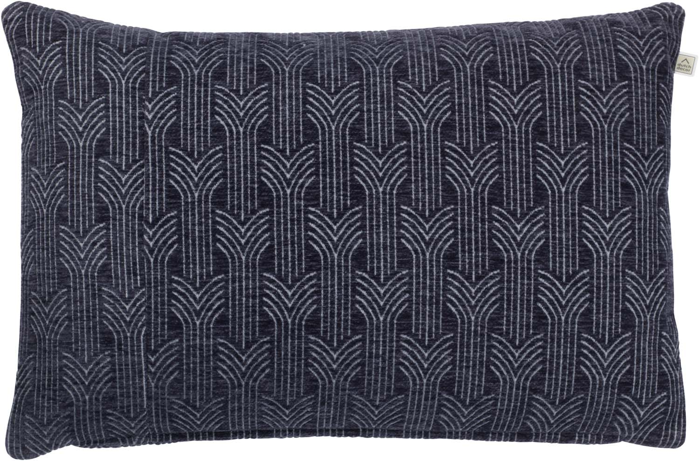 CHIEL - Kussenhoes donkerblauw 40x60 cm