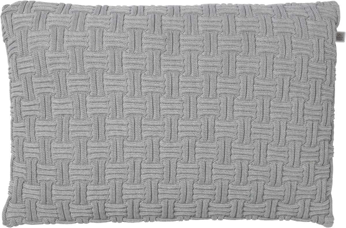 EMDEN - Kussenhoes lichtgrijs 40x60 cm