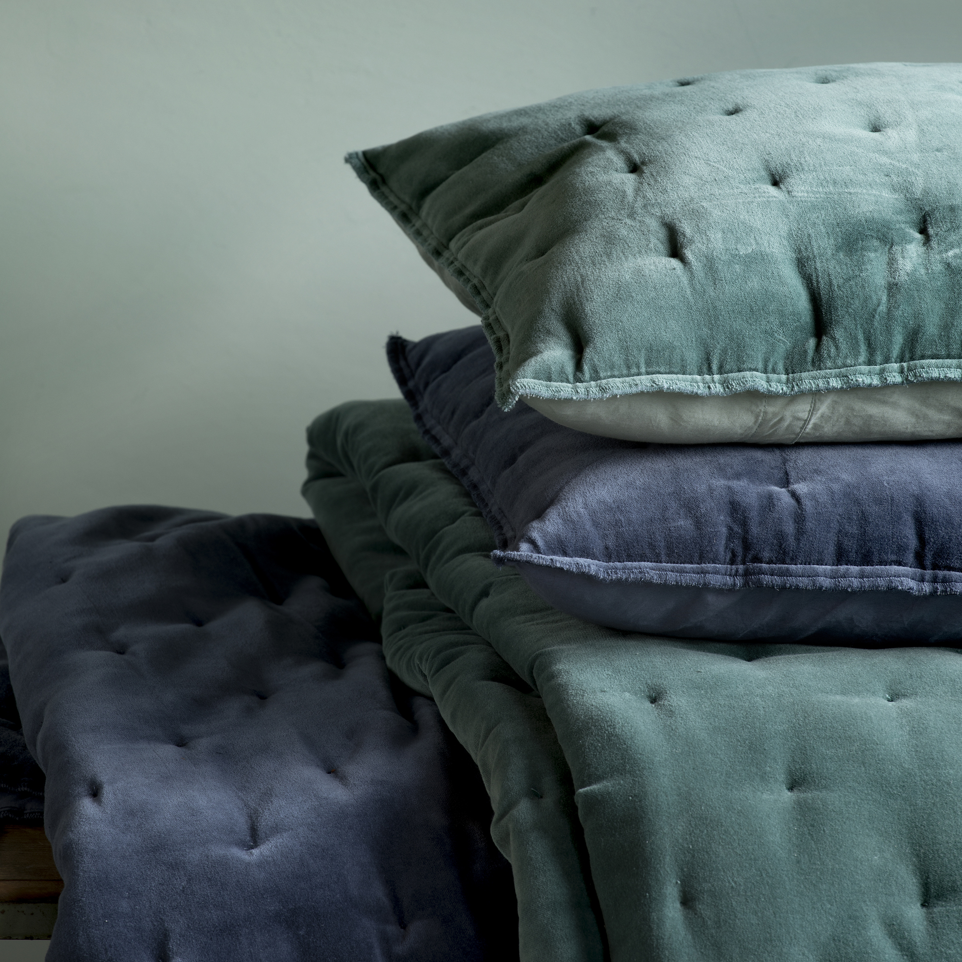 Sierkussen Walra Velvet Touch 40x60 cm  Jade