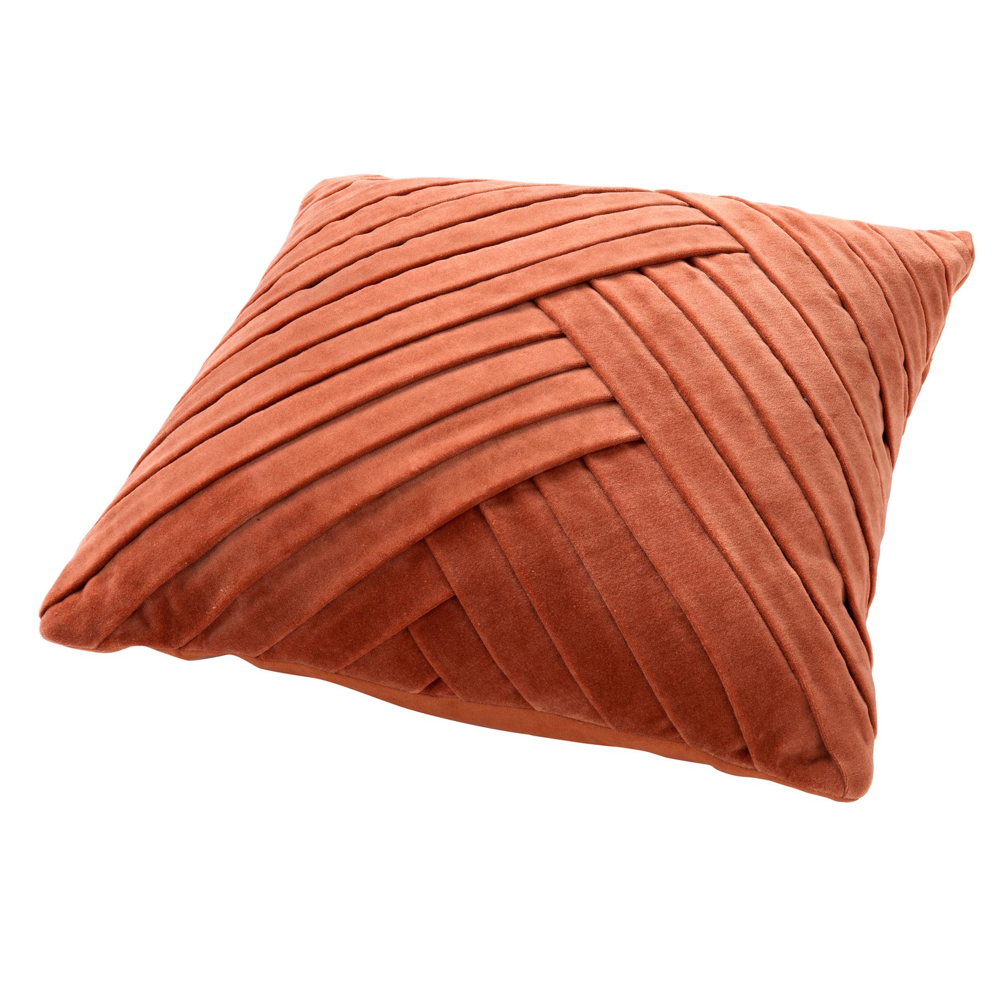 GIDI - Sierkussen velvet Potters Clay 45x45 cm