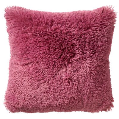 FLUFFY - Sierkussen unikleur Heather Rose 60x60 cm