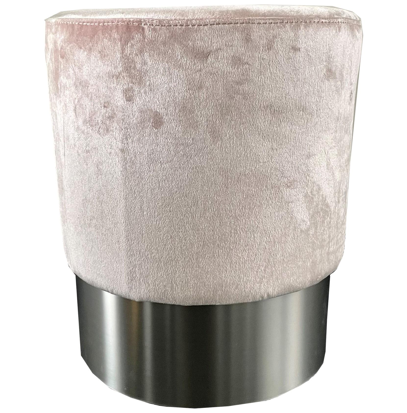 MARIAN - Poef roze 36x36x44 cm