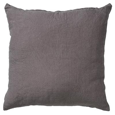 LINN - Sierkussen linnen Charcoal Grey 45x45 cm