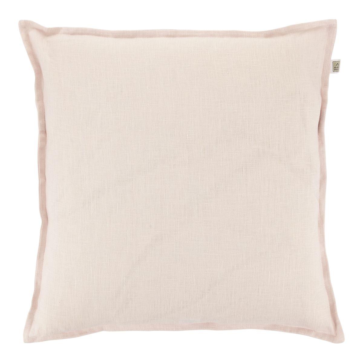 Kussen Linnen 45x45cm licht roze
