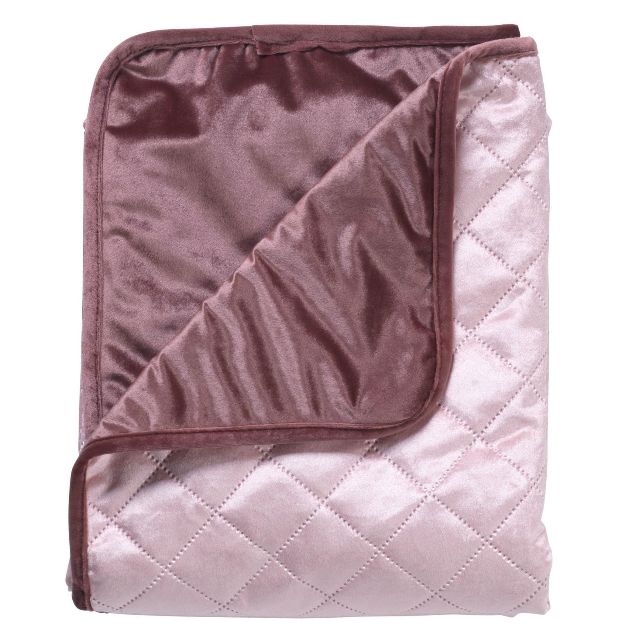 BEAU - Plaid roze 130x160 cm
