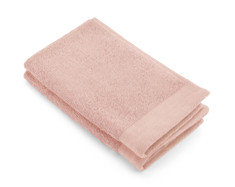 Gastendoek Walra Soft Katoen II (30x50) Roze set van 2 stuks