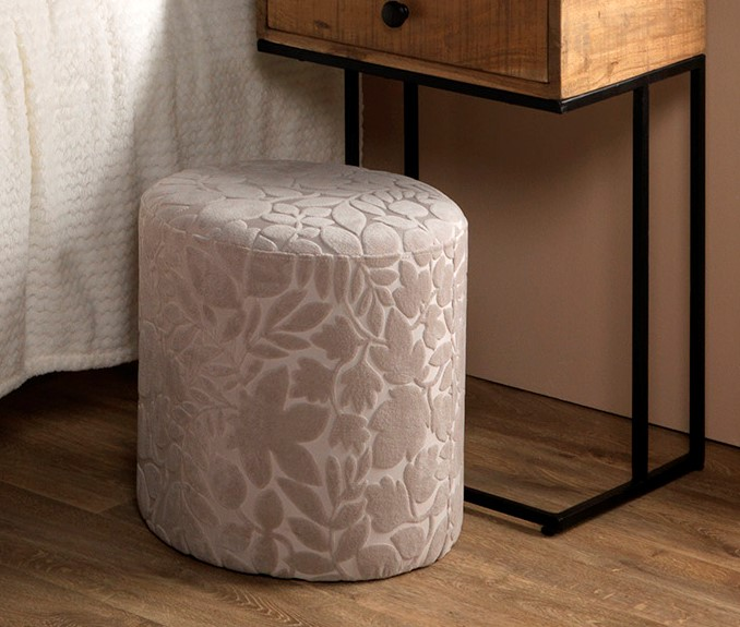 FRIDA - Poef zand 40x40x40 cm