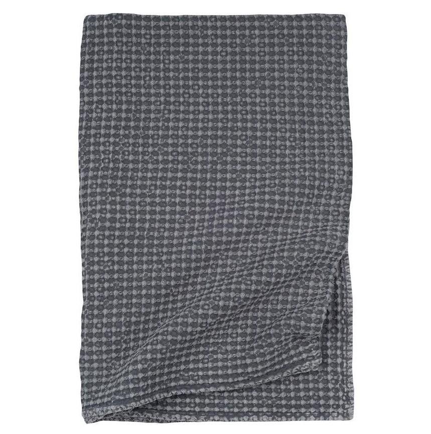 NILS - Walra Plaid antraciet 130x180 cm