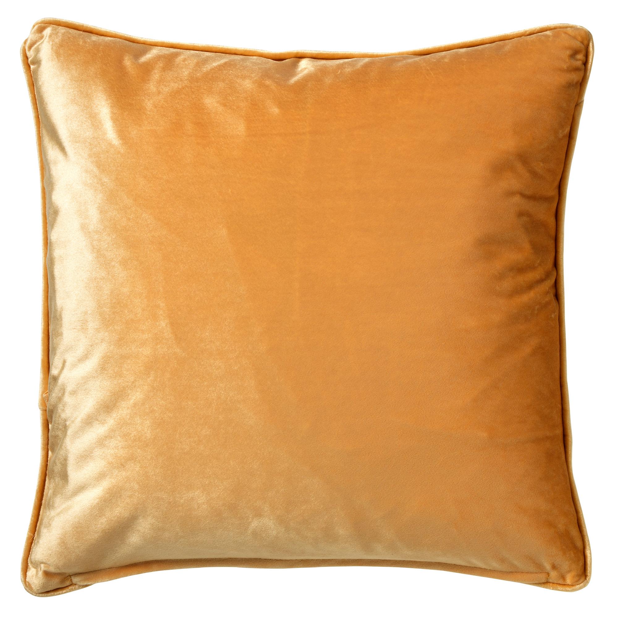 ZABRINA - Sierkussen velvet Golden Glow 45x45 cm