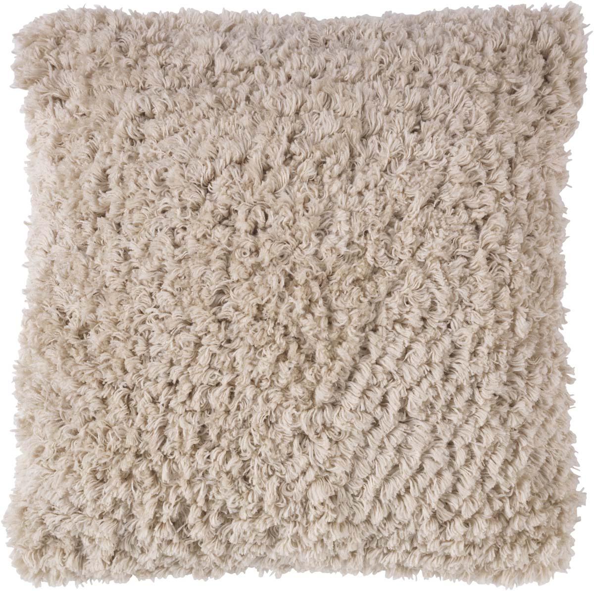 GLENN - Sierkussen zand 45x45 cm