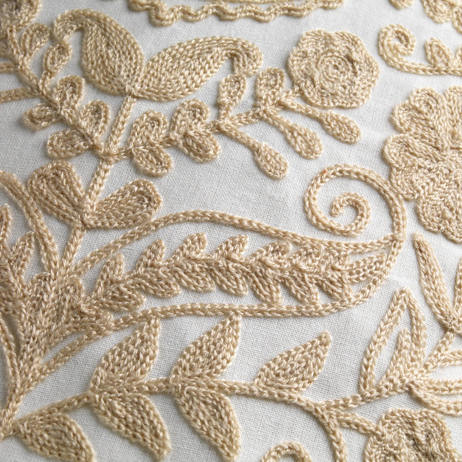 MIMI - Sierkussen van katoen Tobacco Brown 30x50 cm