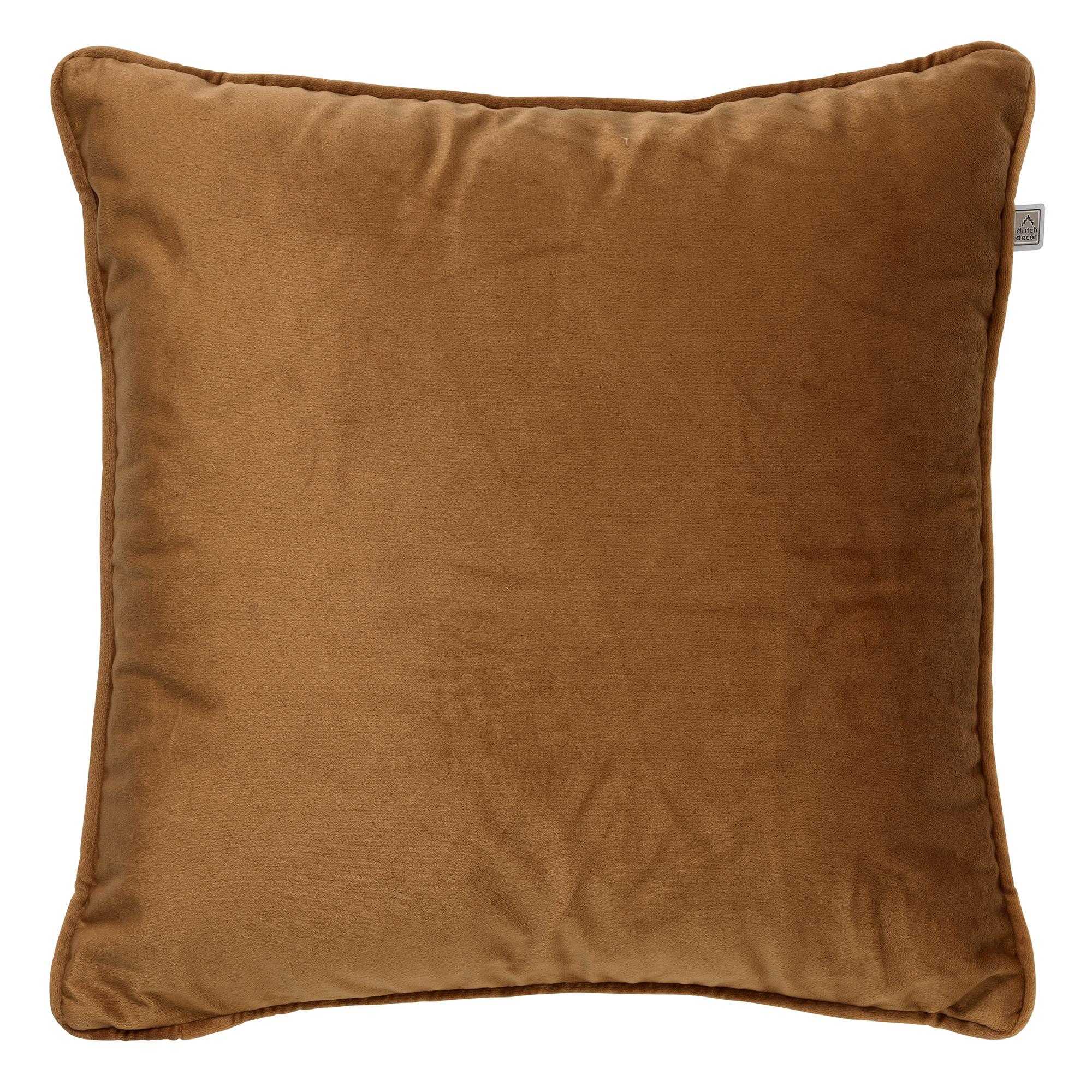 FINN - Sierkussen velvet Tobacco Brown 45x45 cm