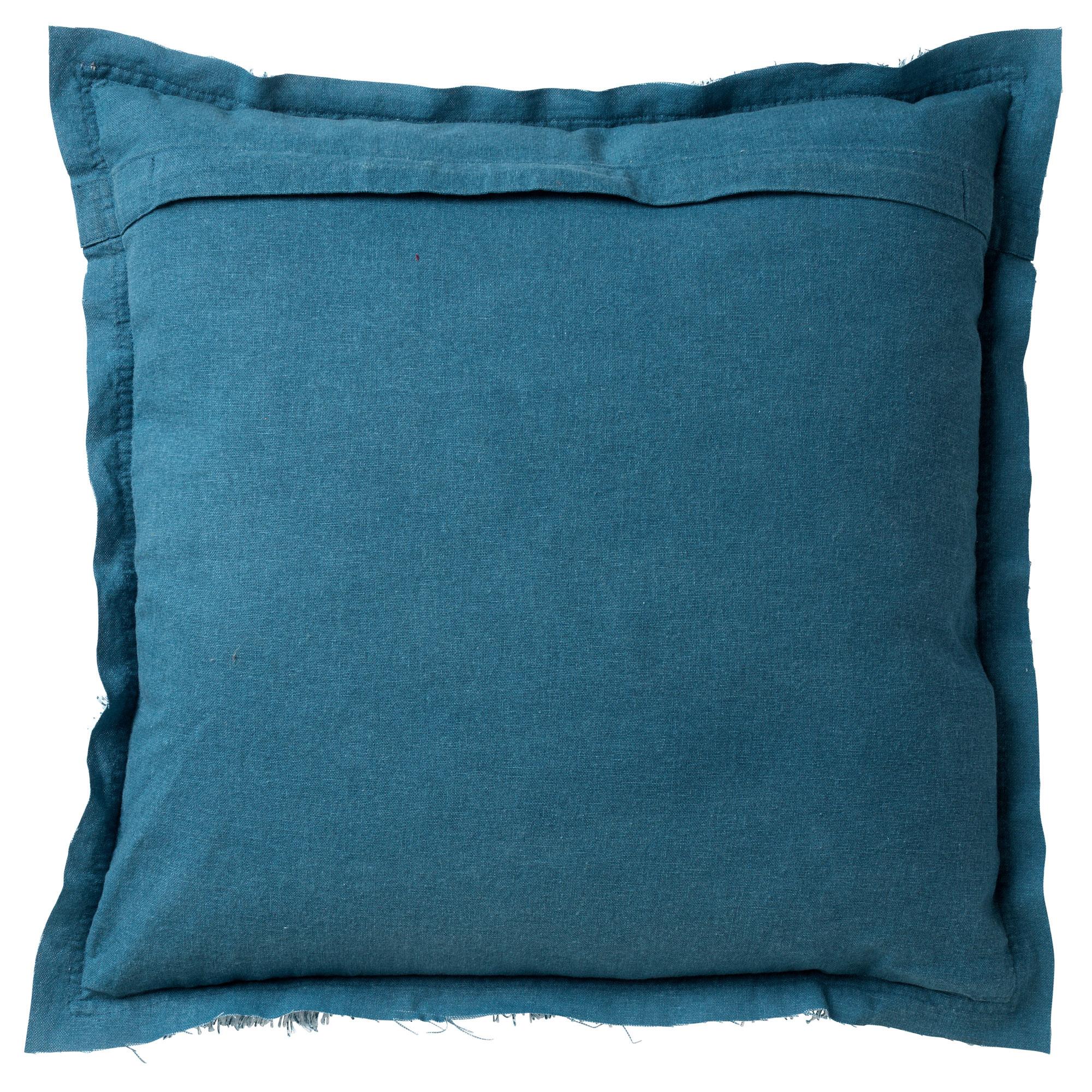 BURTO - Sierkussen van katoen Provincial Blue 45x45 cm