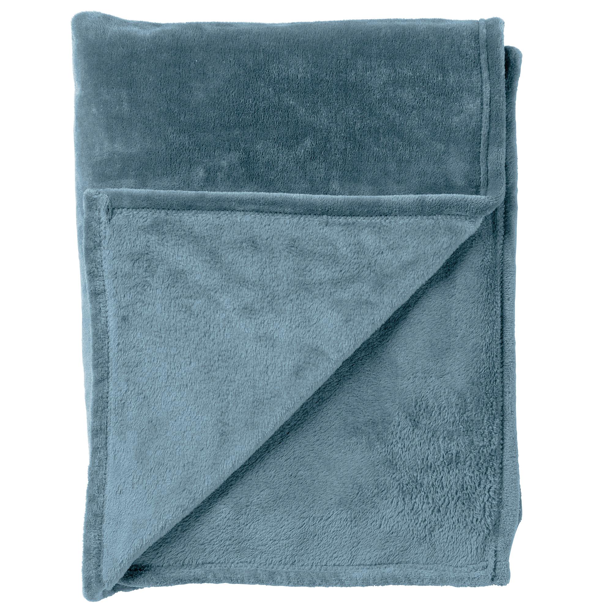 CHARLIE - Plaid Provincial Blue 200x220 cm