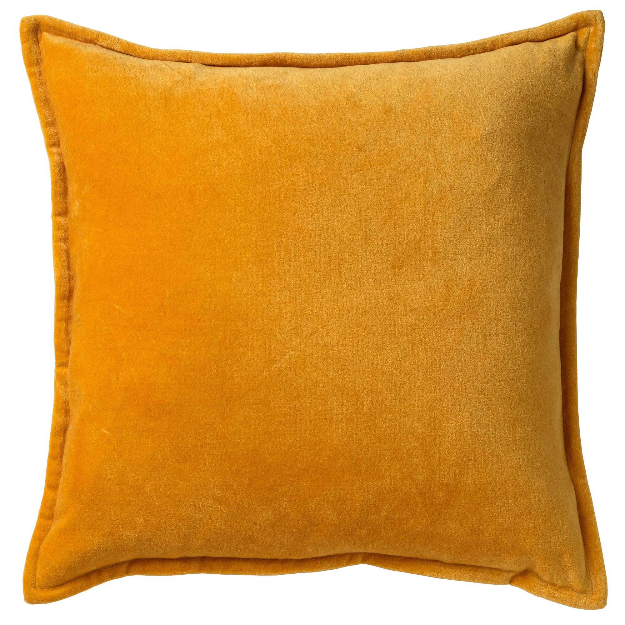 CAITH - Sierkussen velvet Golden Glow 50x50 cm