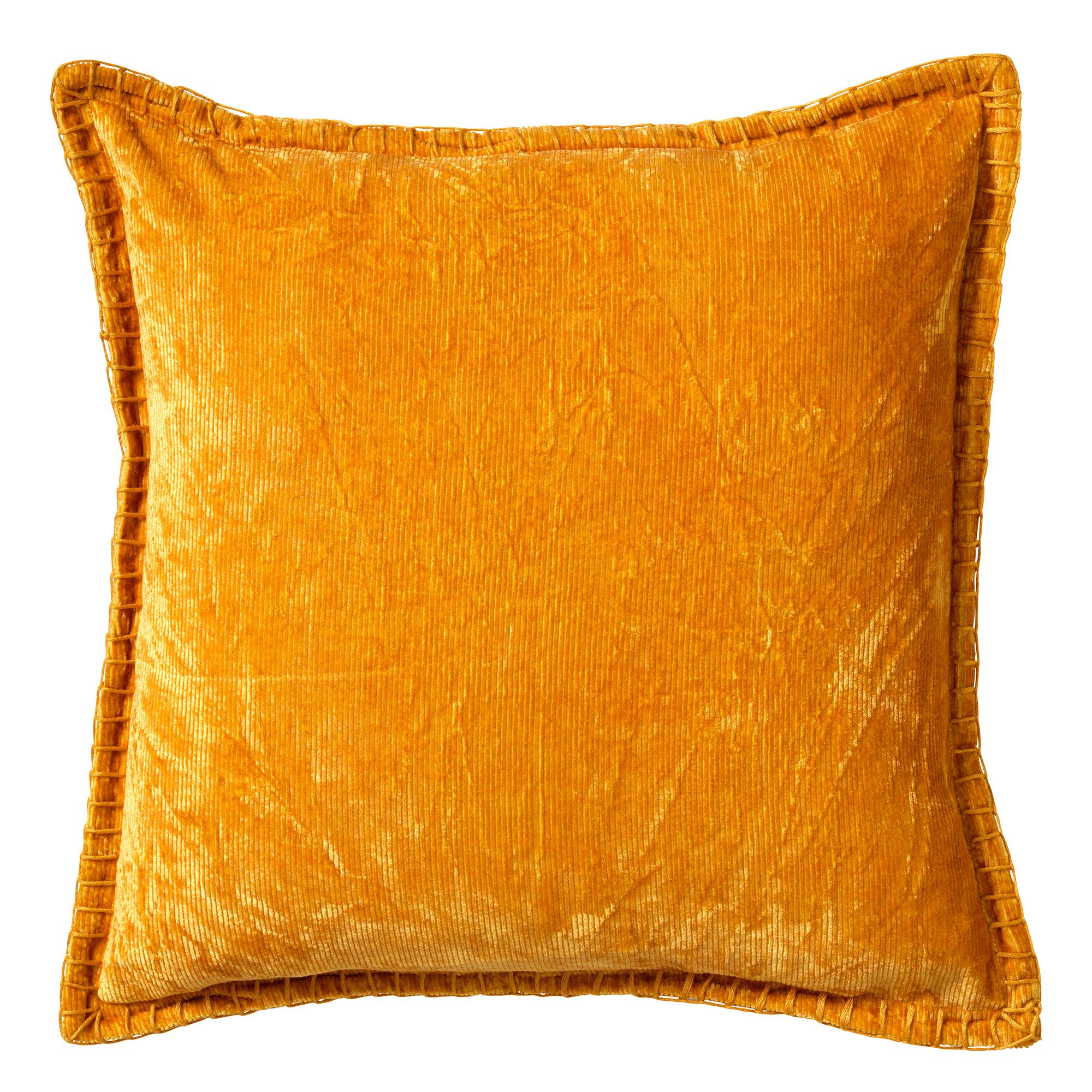 REBEL - Sierkussen velvet 45x45 cm Golden Glow