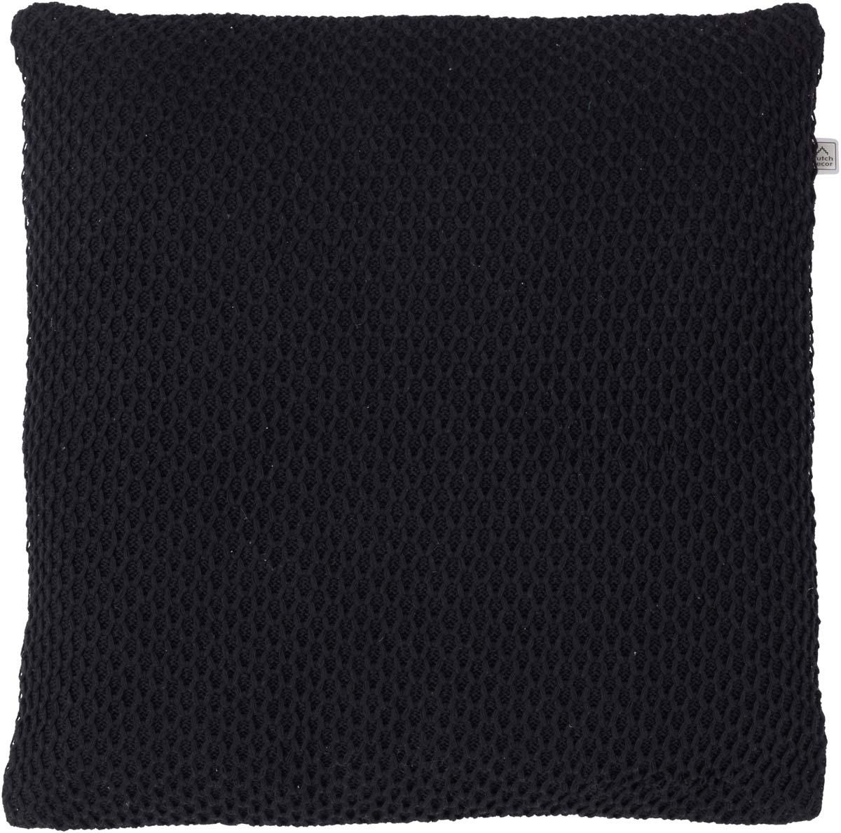 DRAGAN - Sierkussen zwart 45x45 cm