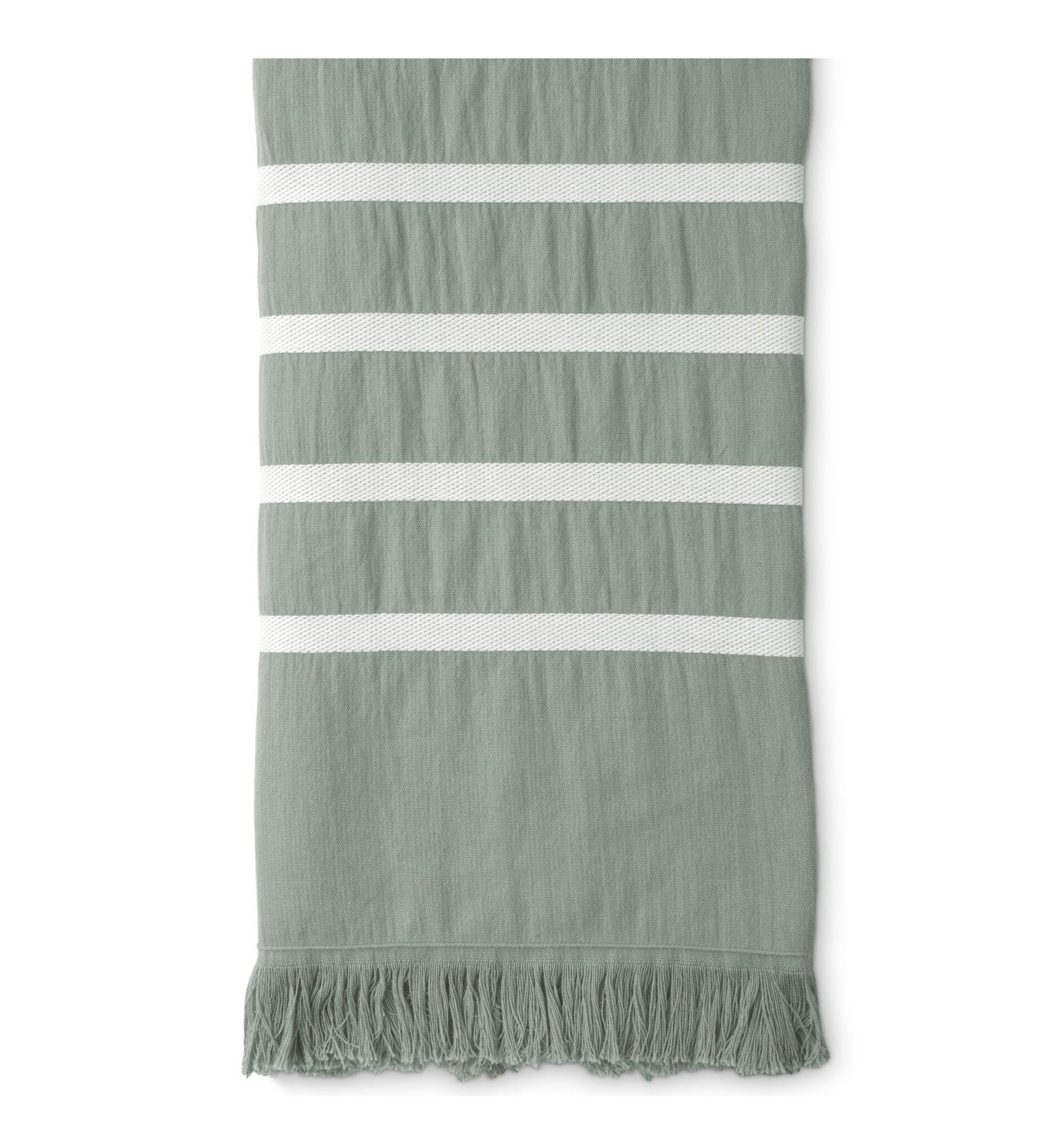 Hamamdoek Walra Fouta Sunny Stripes 100x180 cm Jade
