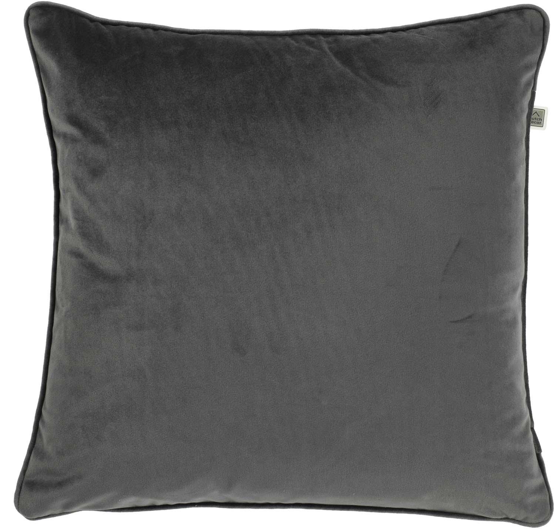 FINN - Sierkussen velvetCharcoal Gray 70x70 cm