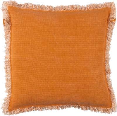 BURTO - Sierkussen van katoen oranje 70x70 cm