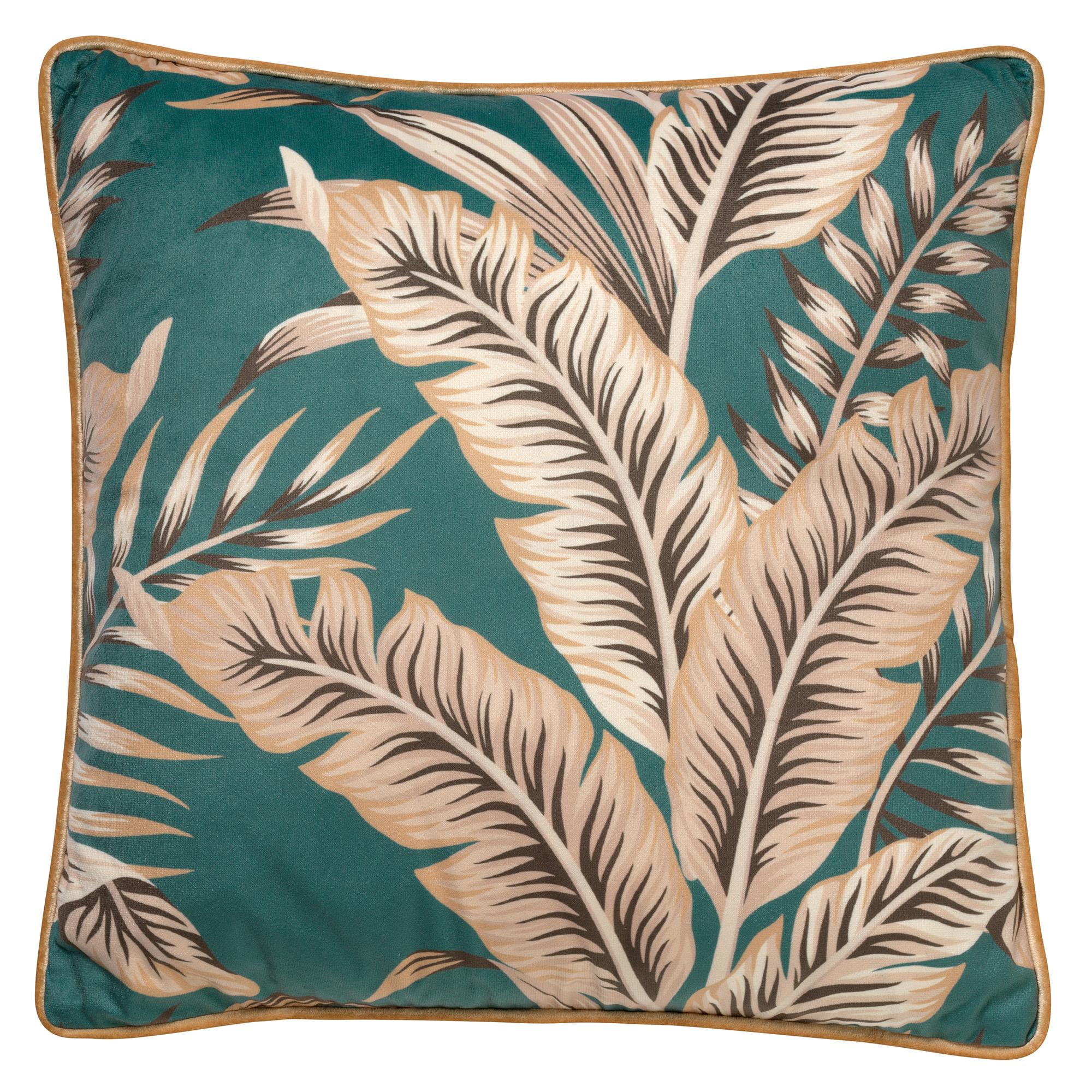PALMER - Sierkussen velvet Sagebrush Green 45x45 cm
