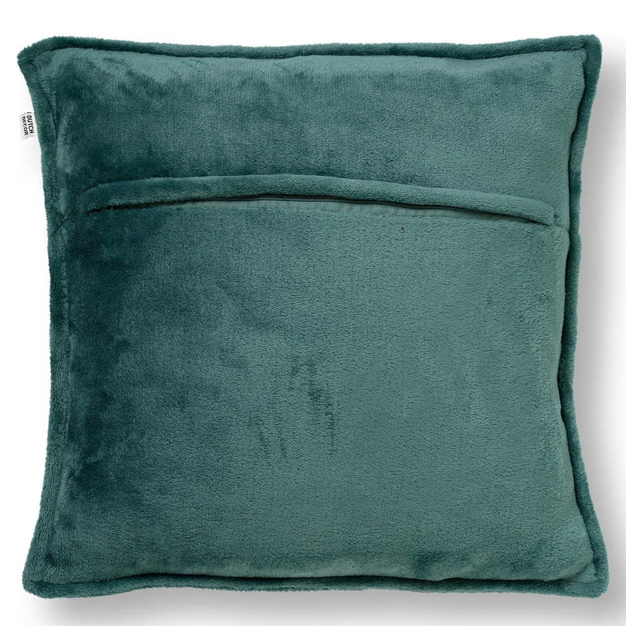 CILLY - Kussenhoes van fleece Sagebrush Green 45x45 cm