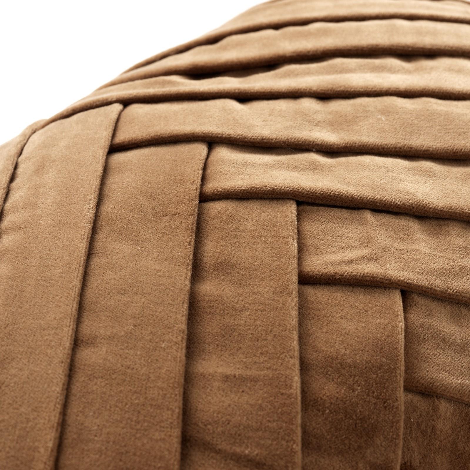 FEMM - Sierkussen velvet Tobacco Brown 30x50 cm