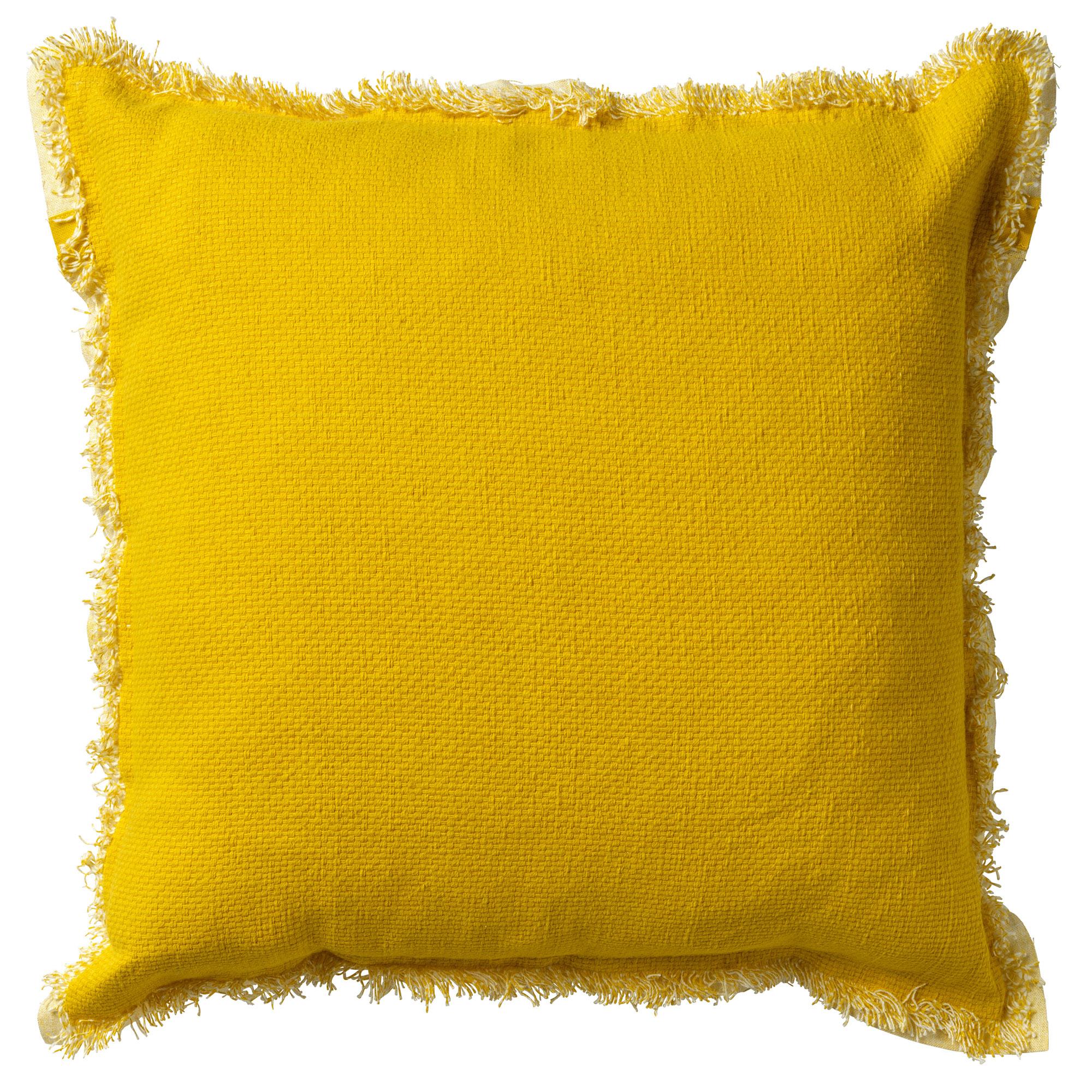 BURTO - Sierkussen van katoen Lemon 60x60 cm