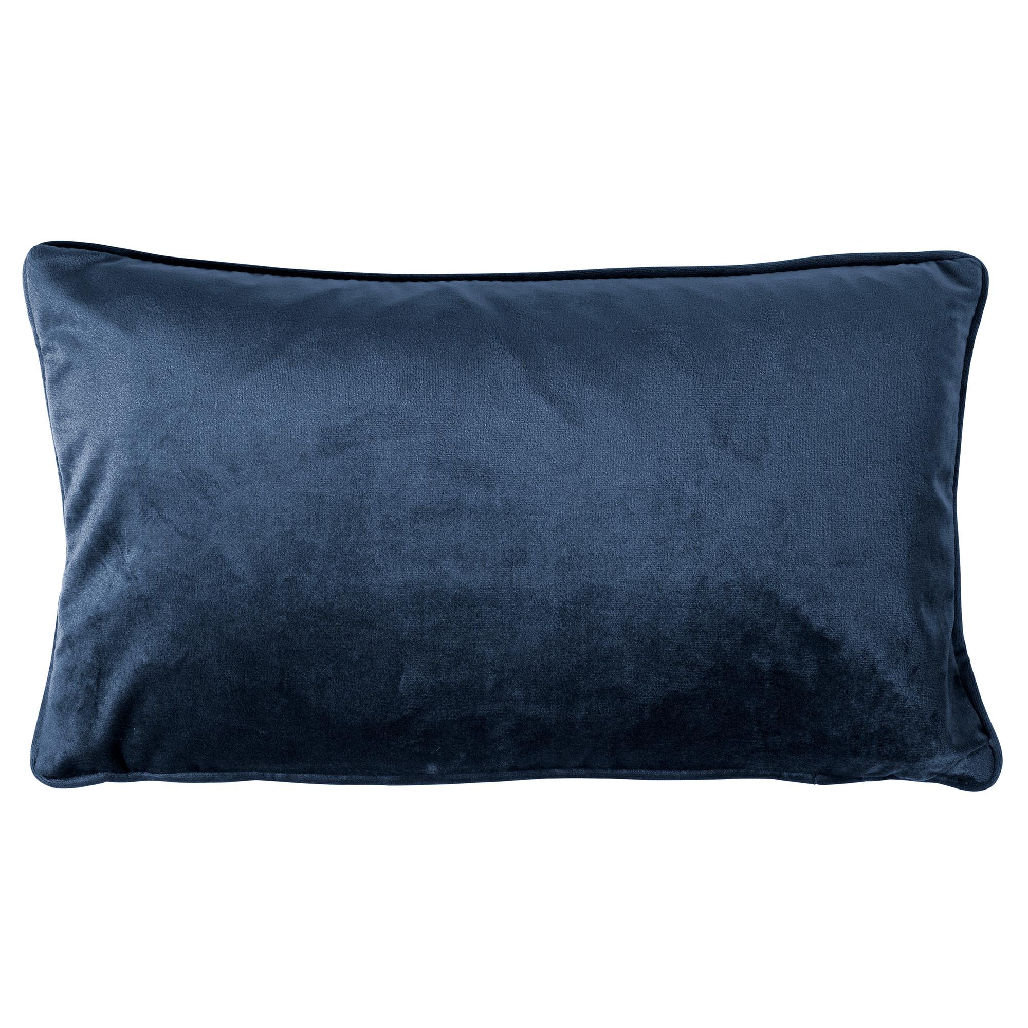 FINN - Sierkussen velvet Insignia Blue 30x50 cm