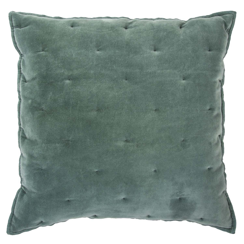 VELVET TOUCH -  Sierkussen Walra Velvet Touch 50x50 cm Jade