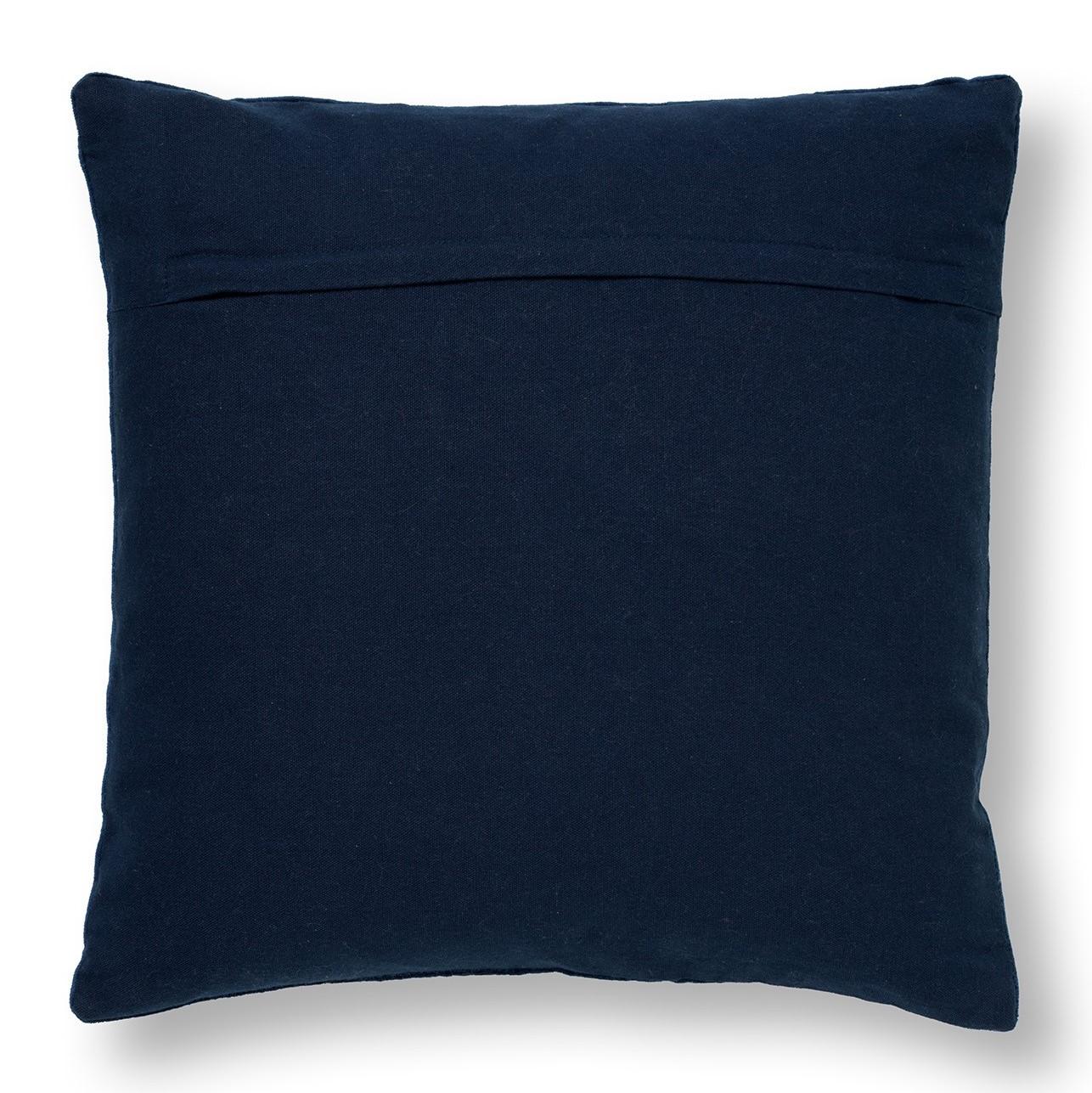 REMY - Sierkussen velvet Insignia Blue 45x45 cm