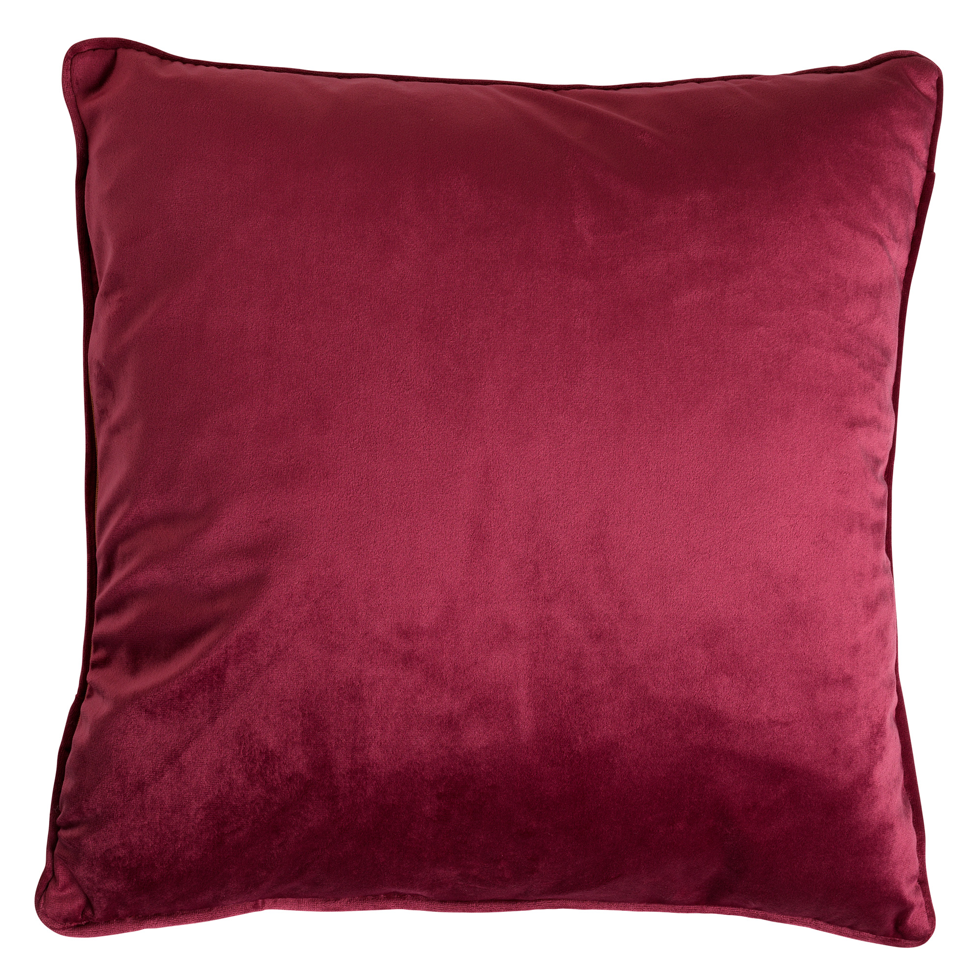 FINN - Kussenhoes velvet Red Plum 60x60 cm