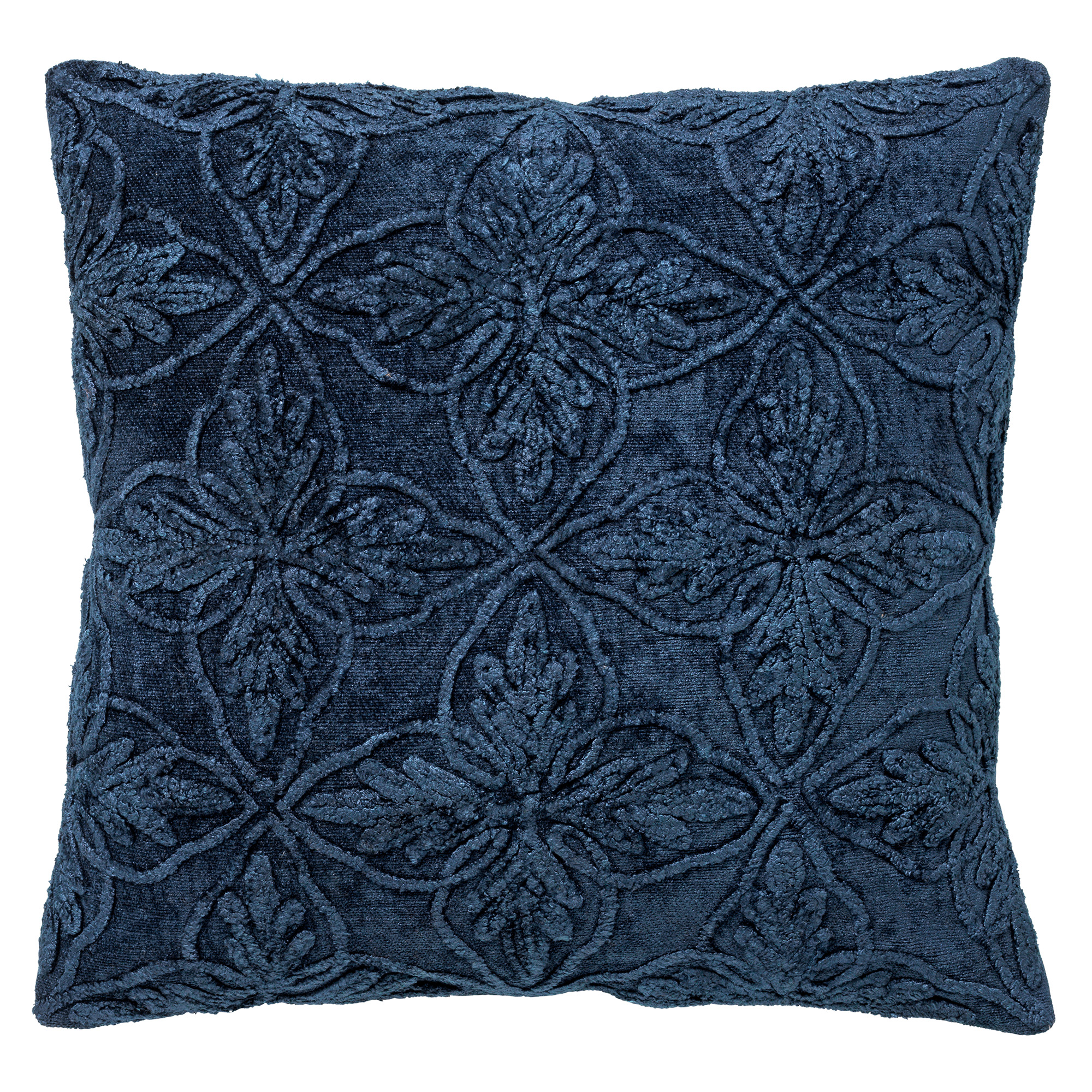 AMAR - Sierkussen van katoen 45x45 cm Insignia Blue