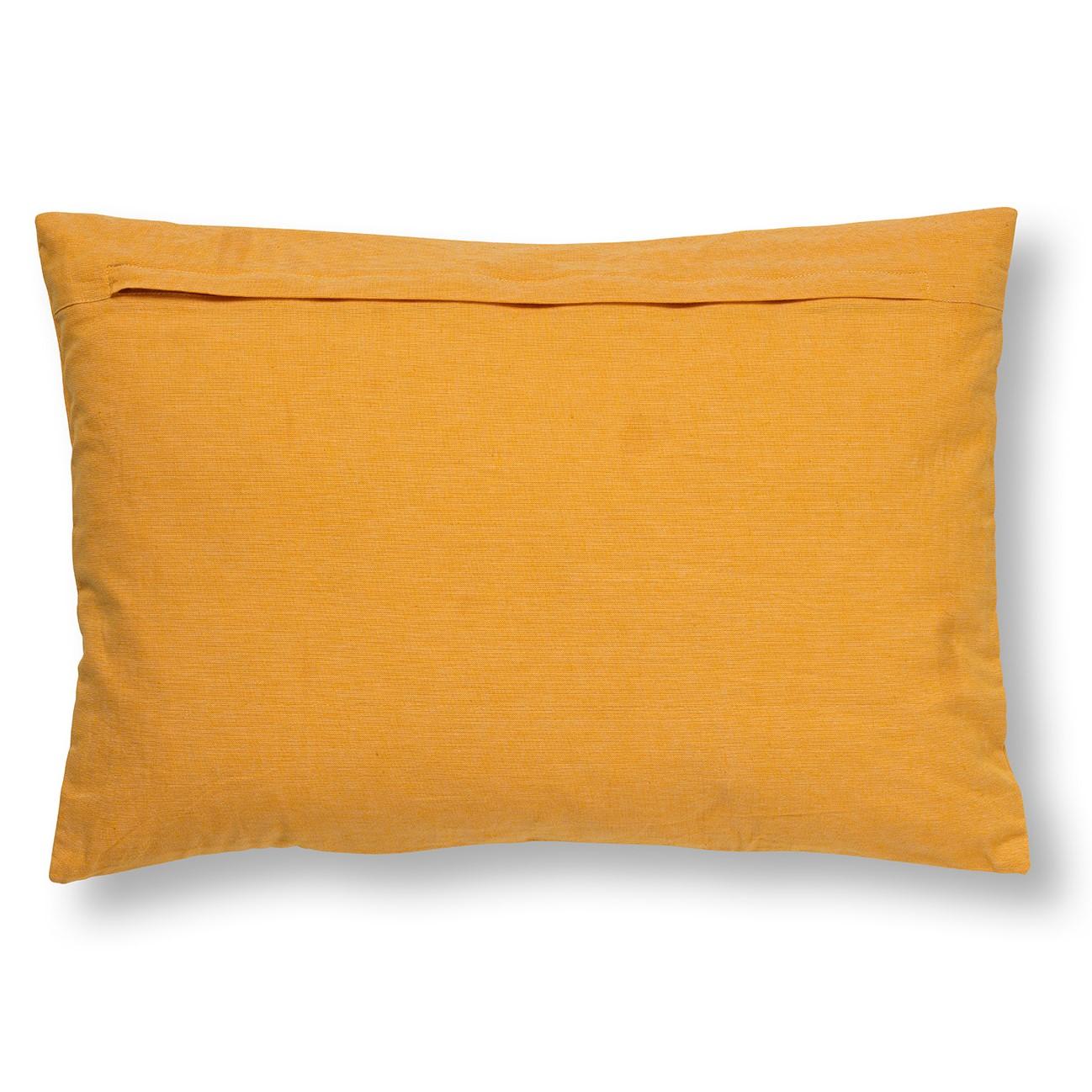 MADELIN - Sierkussen van katoen Golden Glow 40x60 cm