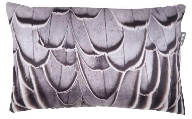 LARS - Sierkussen Walra lars 30x50  cm grijs