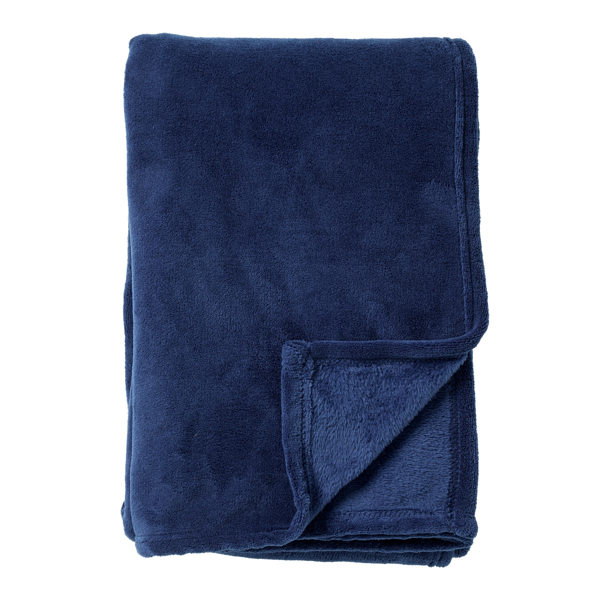 HARVEY - Plaid van fleece Insignia Blue 150x200 cm
