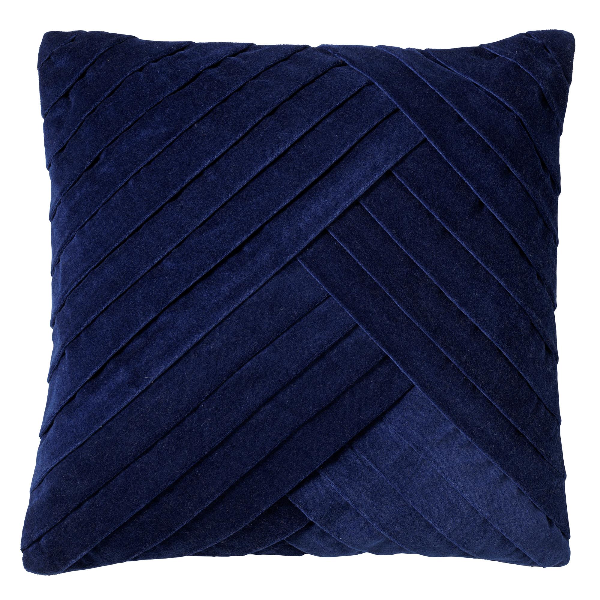GIDI - Kussenhoes velvet 45x45 cm Insignia Blue