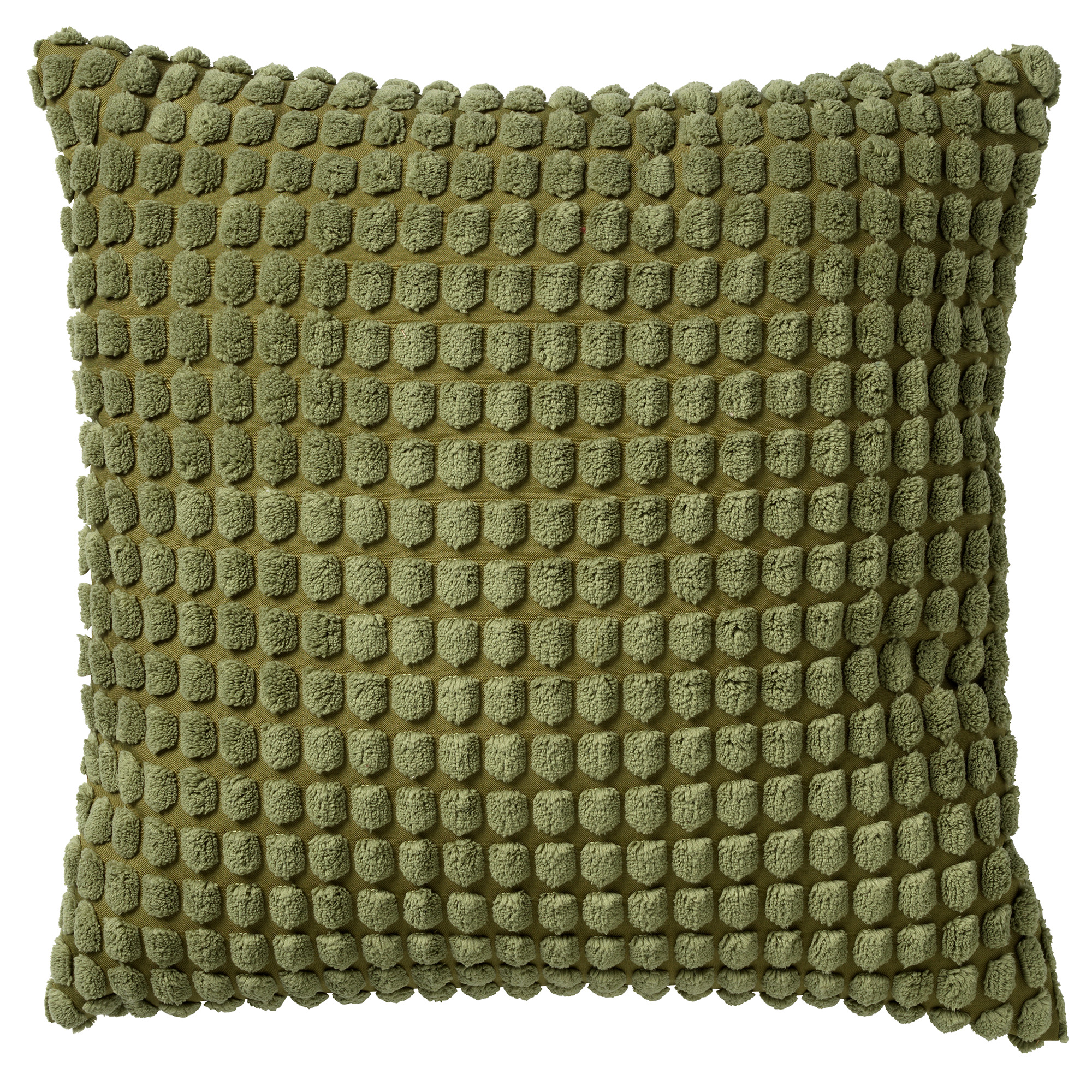 ROME - Sierkussen uni Calliste Green 45x45 cm