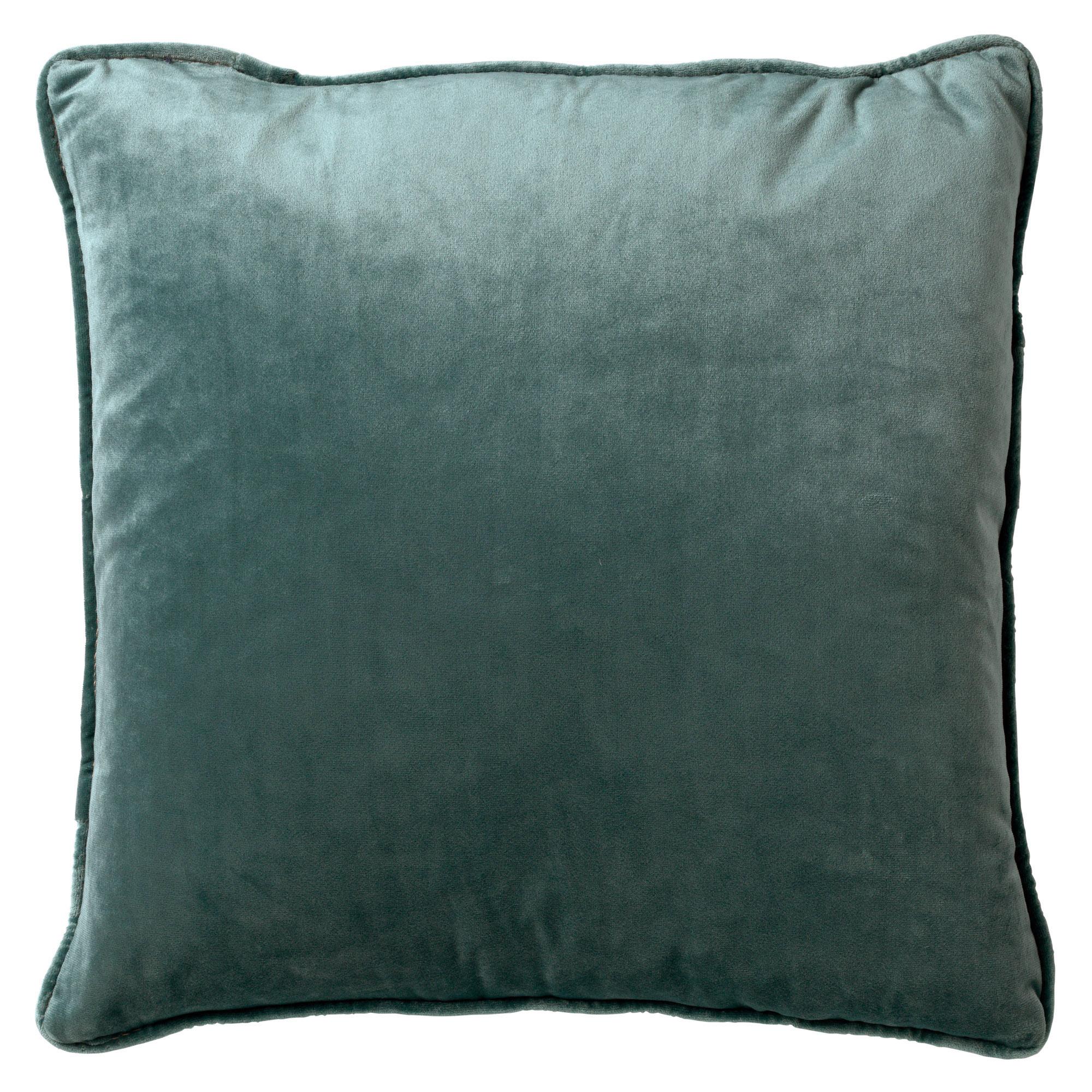 FINN - Sierkussen velvet Sagebrush Green 45x45 cm