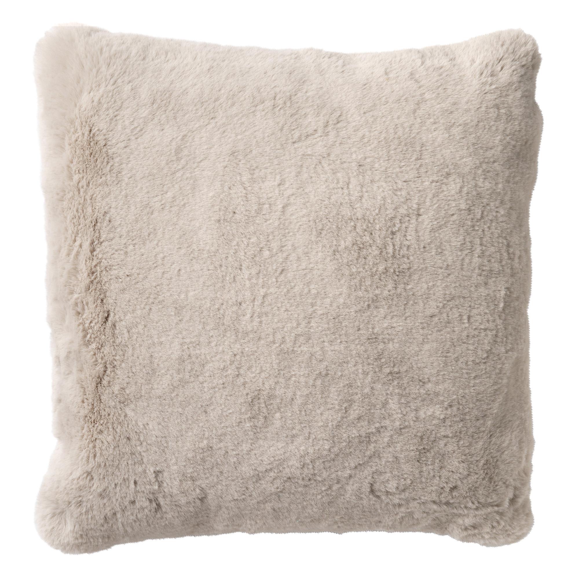 ZAYA - Sierkussen unikleur 60x60 cm Pumice Stone