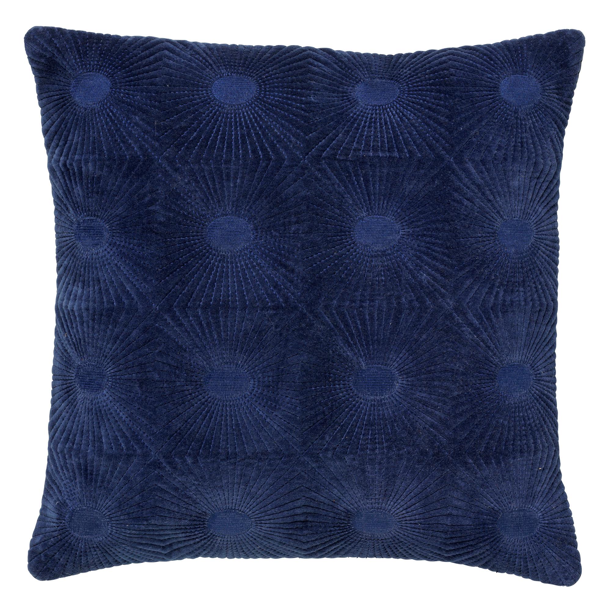 SUN - Kussenhoes van katoen 45x45 cm Insignia Blue