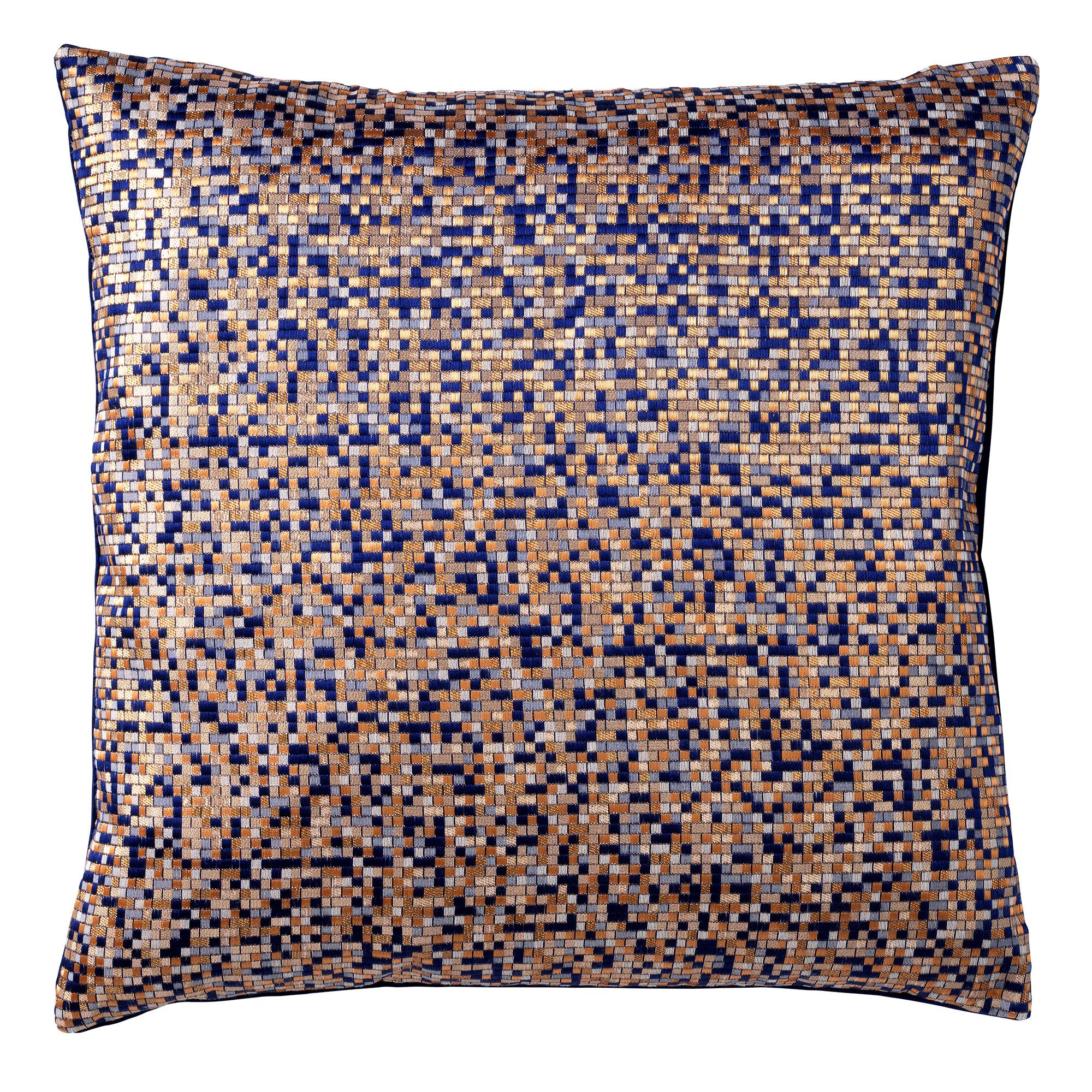 ROYAL - Kussenhoes met patroon 45x45 cm Insignia Blue