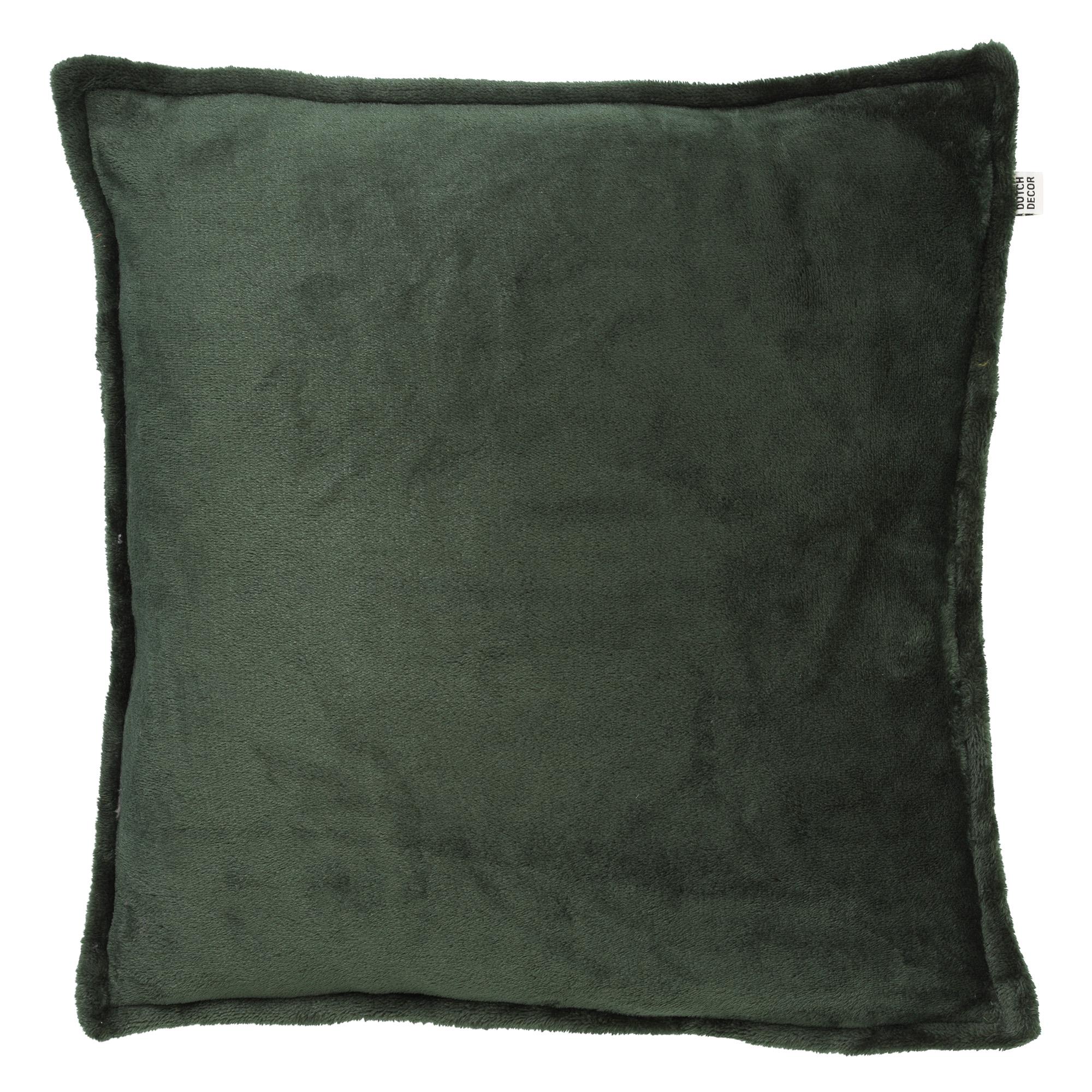 CILLY - Sierkussen van fleece Mountain View 45x45 cm