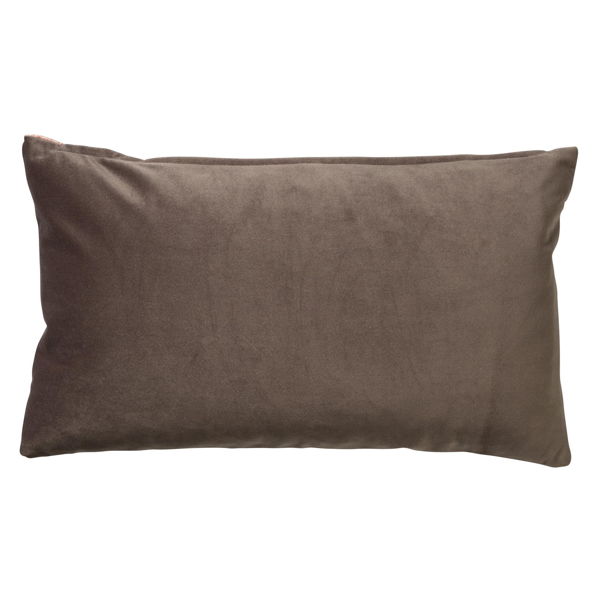 ELISA - Sierkussen velvet Muted Clay 30x50 cm