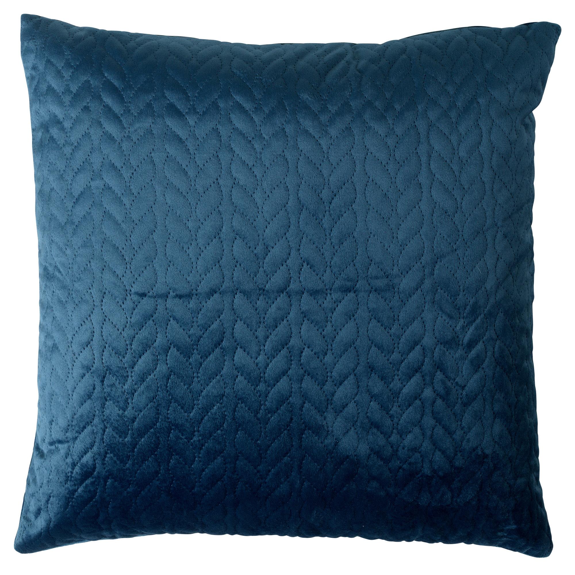 HILKO - Sierkussen velvet Provincial Blue 45x45 cm