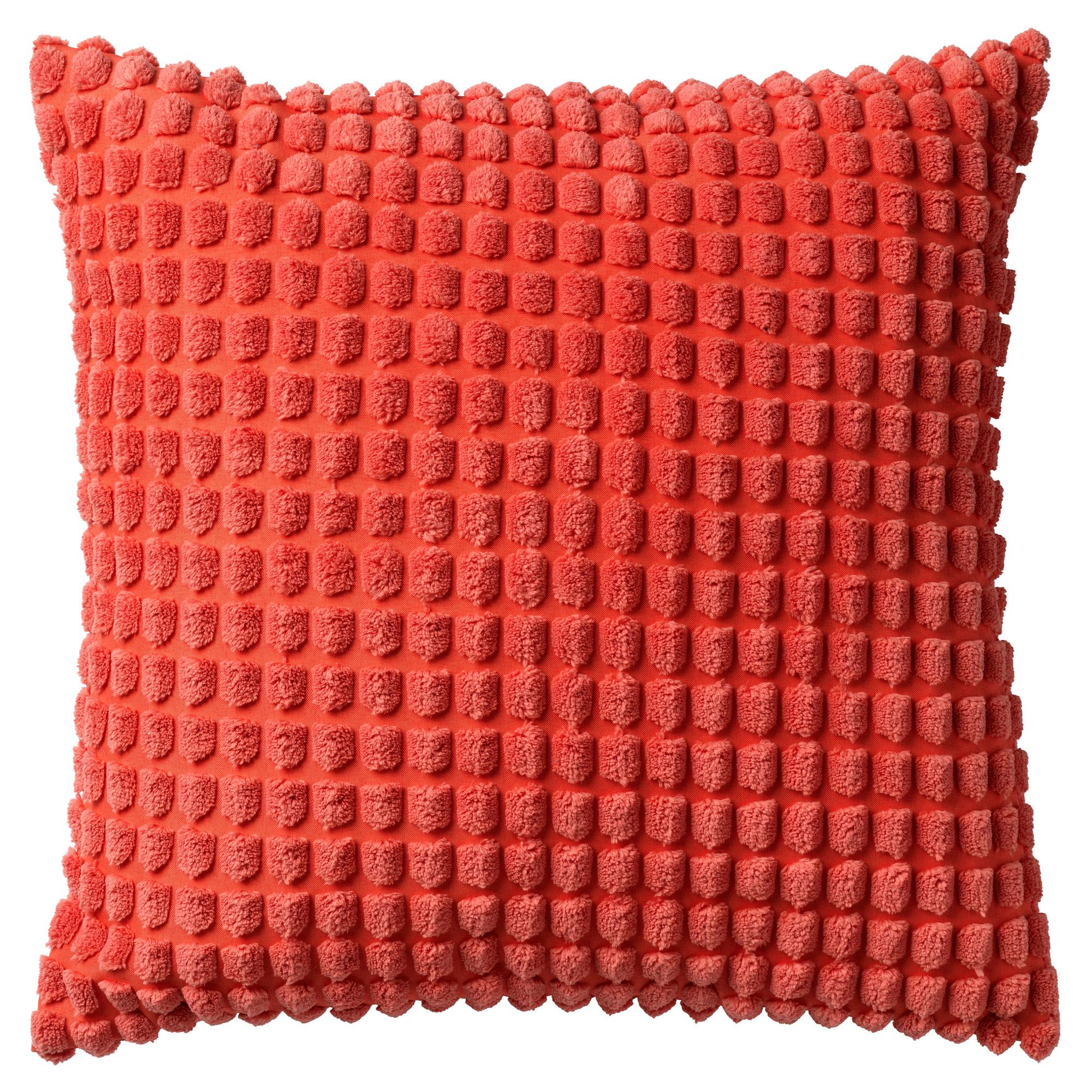 ROME - Sierkussen uni Coral 45x45 cm