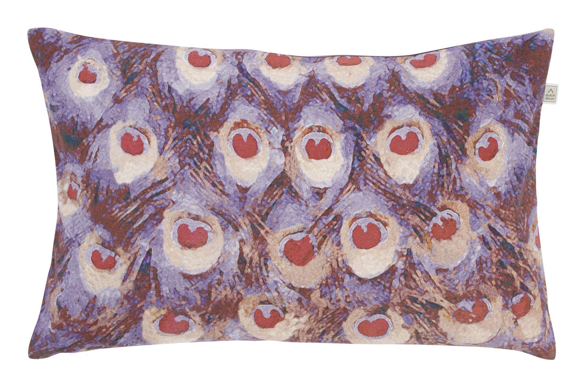 SOUDAL - Kussenhoes paars 30x50 cm